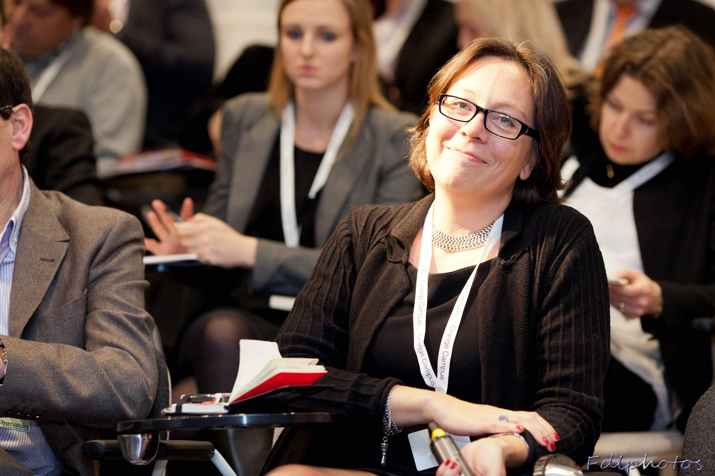 Karine BOULLIER, Directrice de la Communication interne de Coca-Cola Entreprises