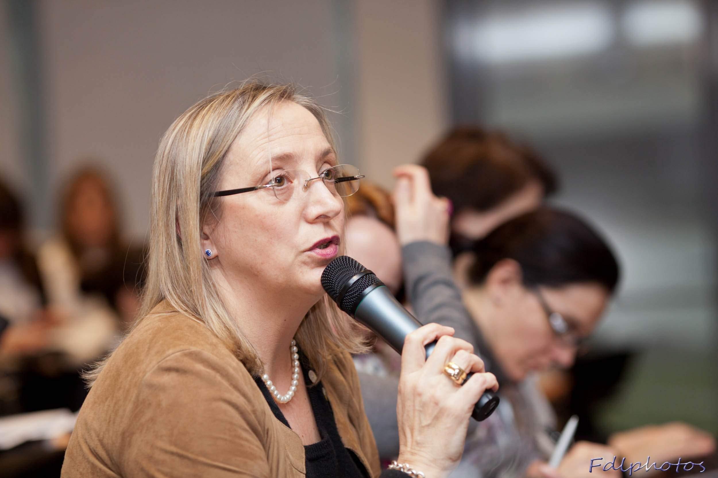 Brigitte Dumont (Orange), Directrice Adjointe des Ressources Humaines pour le Groupe Orange