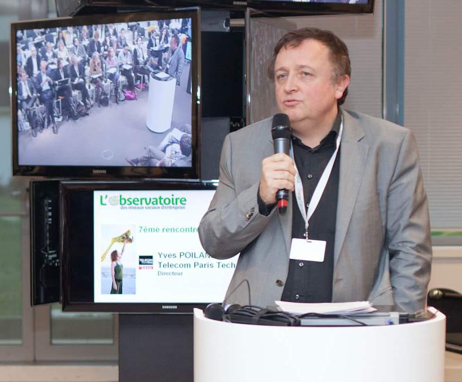 Yves Poilane, Directeur de Telecom Paris Tech