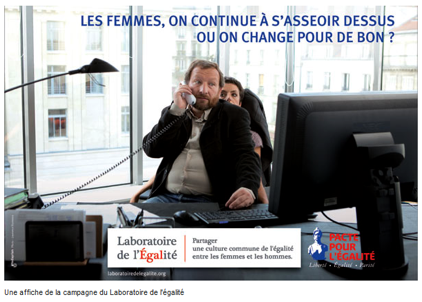 Affiche Laboratoire pour l'Egalit
